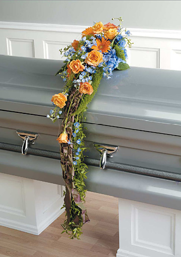 Subtle Touch Casket Adornment